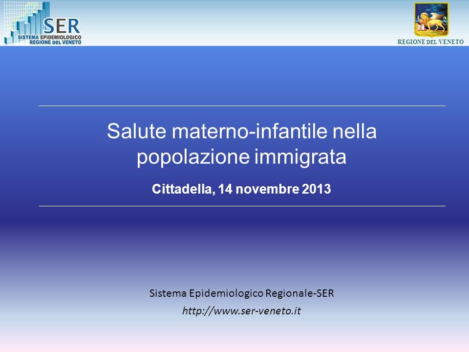 Sistema Epidemiologico Regionale-SER
