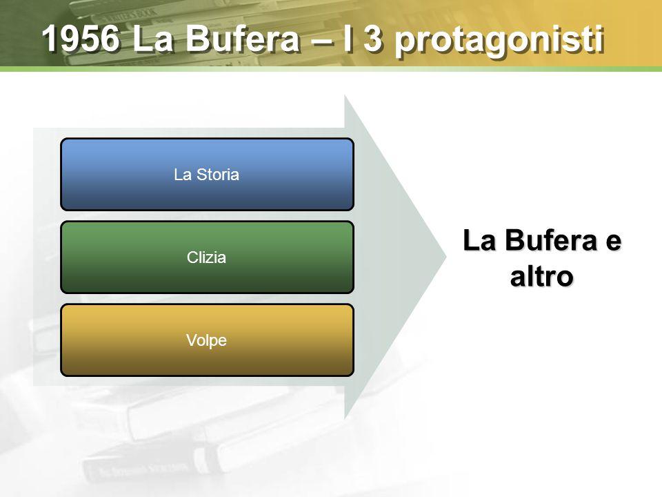 1956 La Bufera – I 3 protagonisti