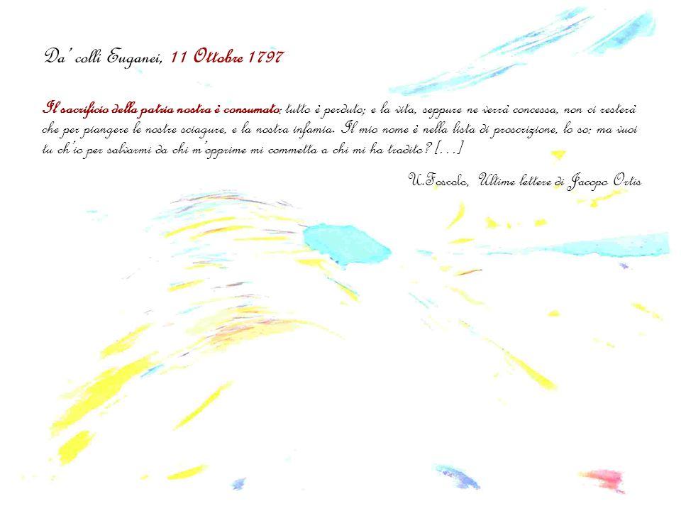 Da' colli Euganei, 11 Ottobre 1797