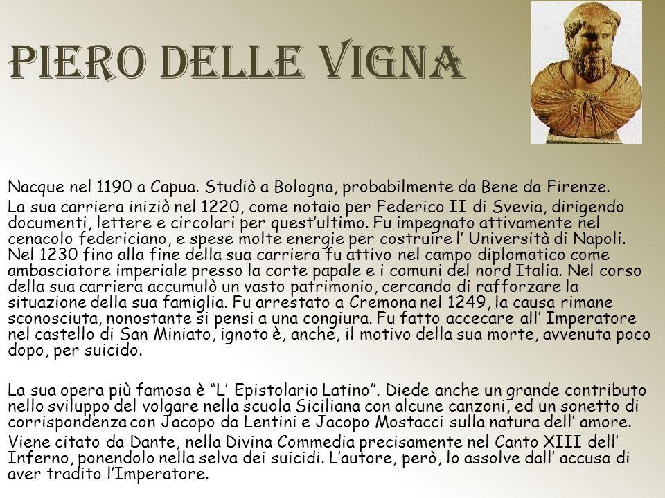 Piero delle Vigna