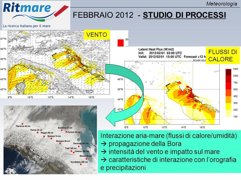 FEBBRAIO 2012 - STUDIO DI PROCESSI