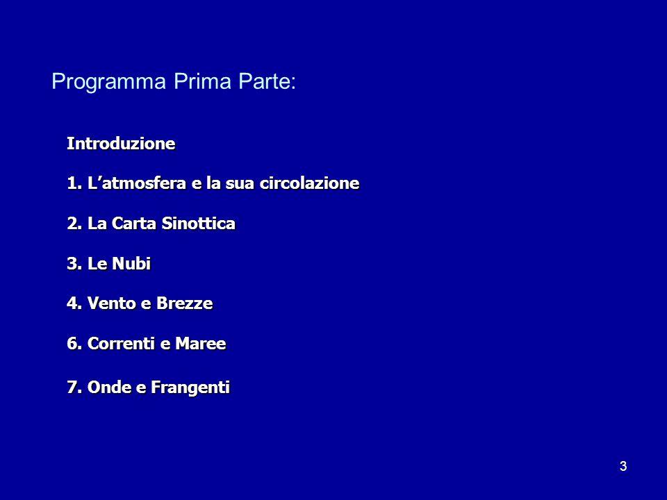 Programma Prima Parte: