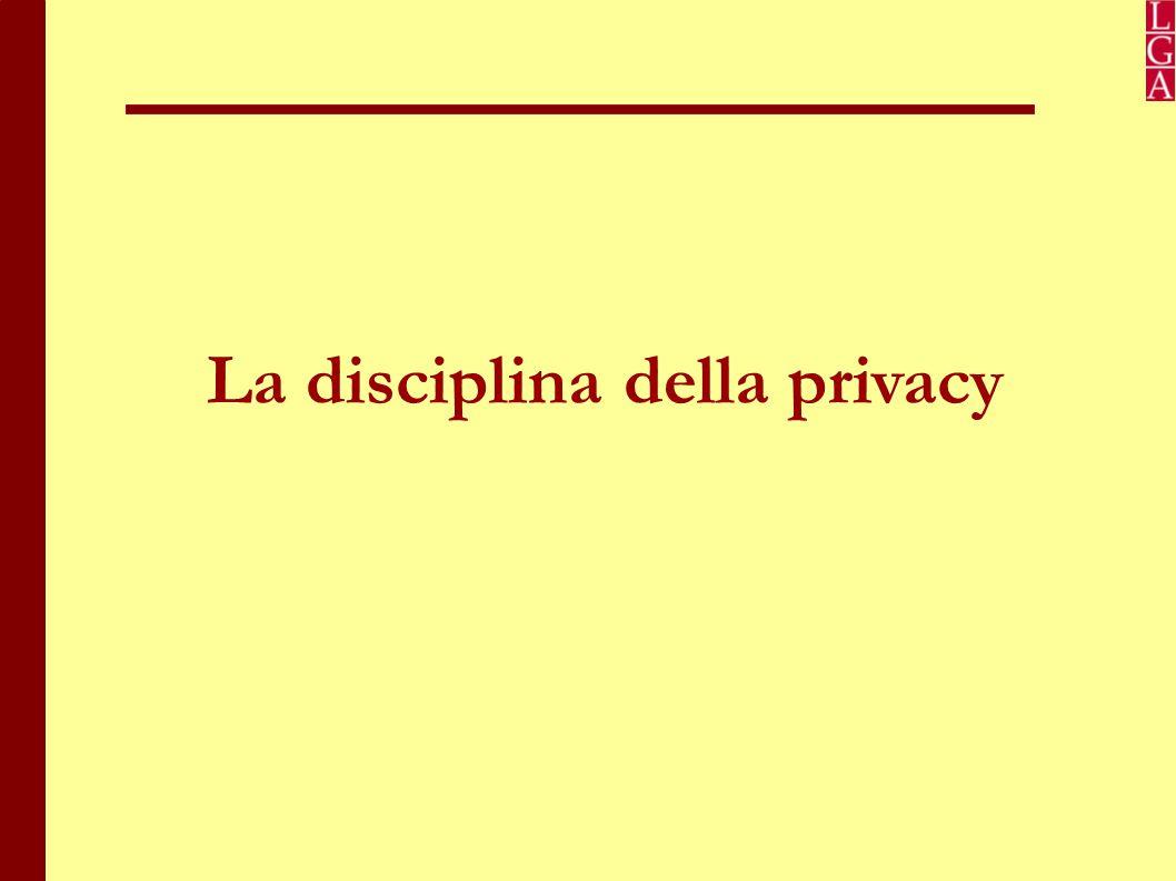 La disciplina della privacy