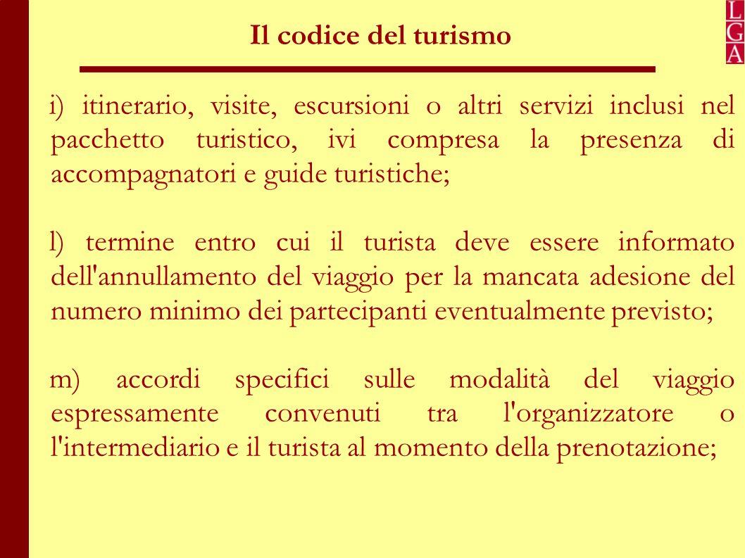 Il codice del turismo