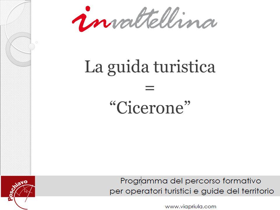 La guida turistica = Cicerone