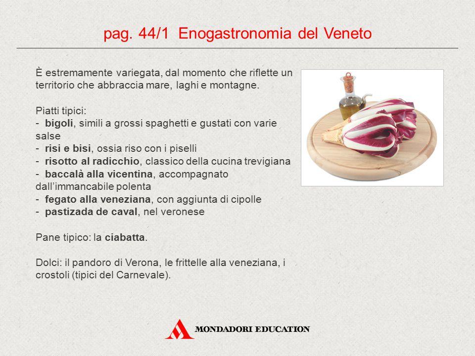 pag. 44/1 Enogastronomia del Veneto