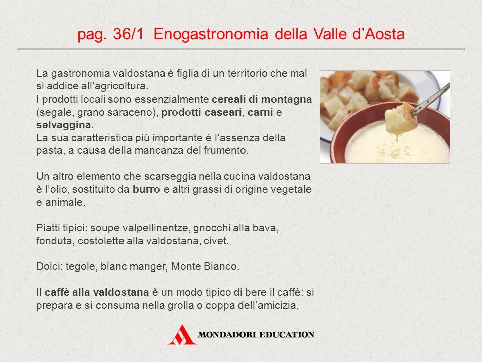 pag. 36/1 Enogastronomia della Valle d'Aosta