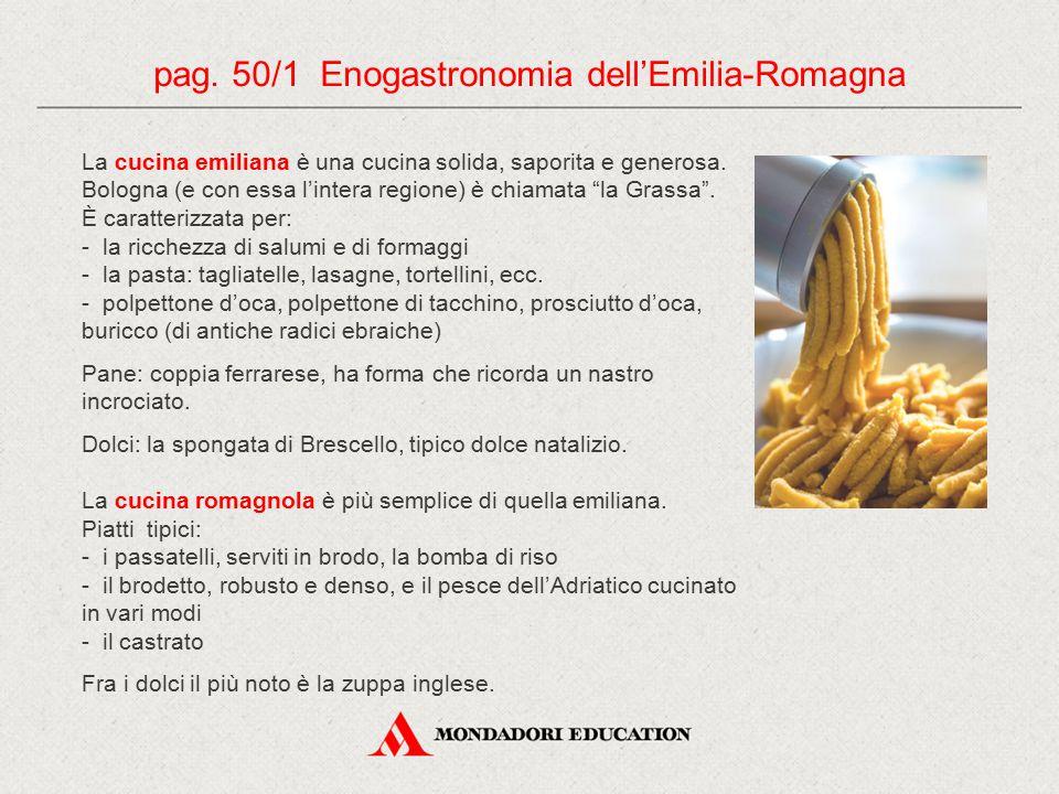 pag. 50/1 Enogastronomia dell'Emilia-Romagna