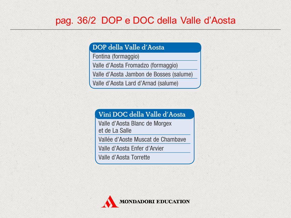pag. 36/2 DOP e DOC della Valle d'Aosta