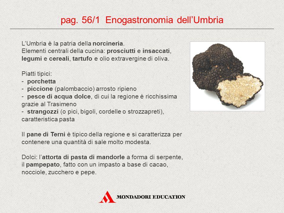 pag. 56/1 Enogastronomia dell'Umbria