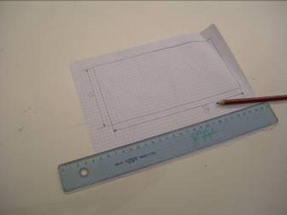 Il progetto Con righello e matita Luca ha tracciato il disegno definitivo e da vero geometra ha quotato il progetto!