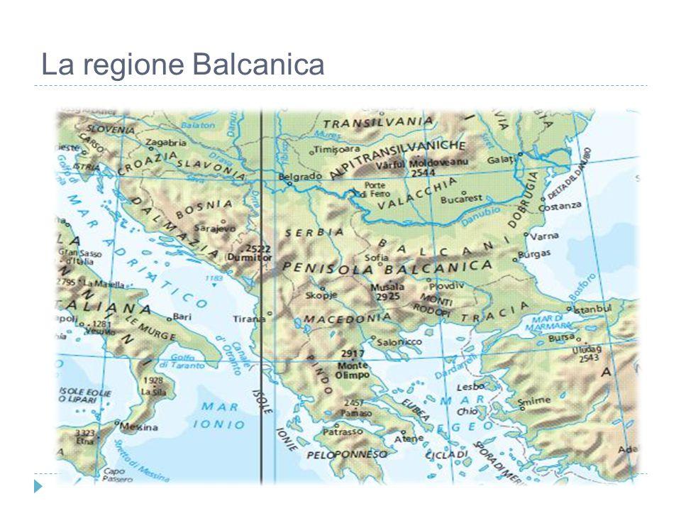 La regione Balcanica