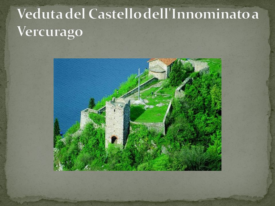 Veduta del Castello dell Innominato a Vercurago