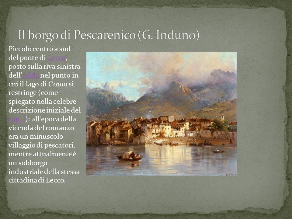 Il borgo di Pescarenico (G. Induno)