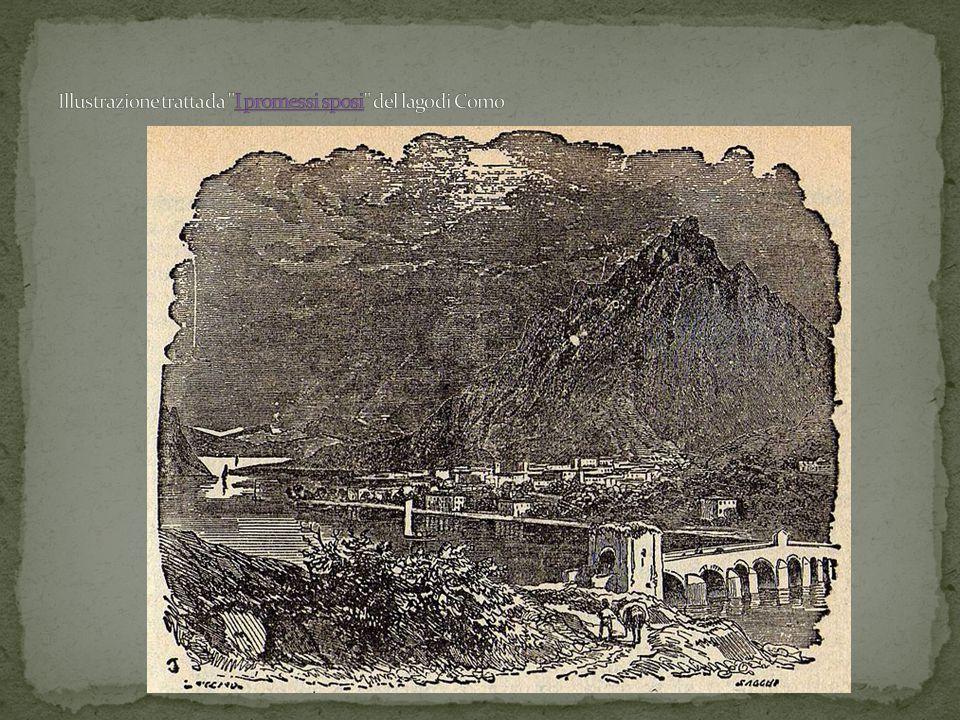 Illustrazione tratta da I promessi sposi del lago di Como