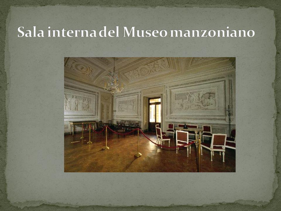 Sala interna del Museo manzoniano