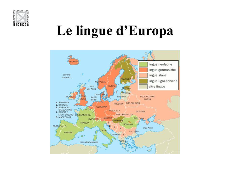Le lingue d'Europa