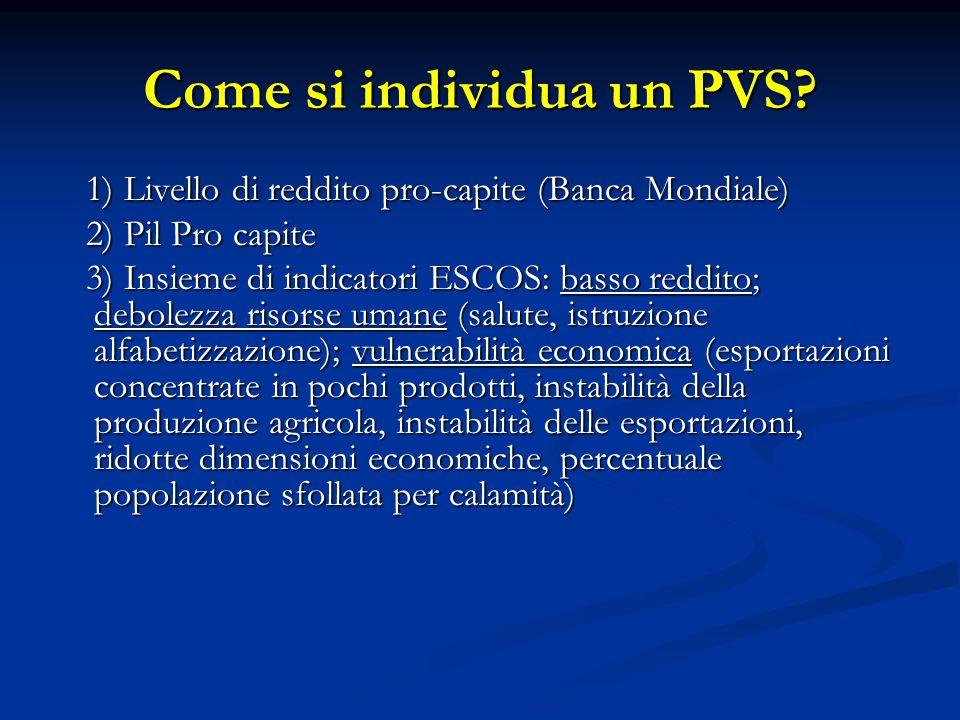Come si individua un PVS