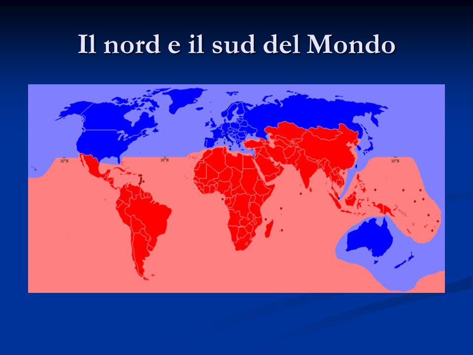 Il nord e il sud del Mondo