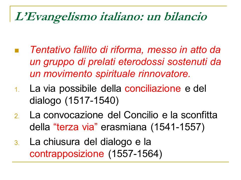 L'Evangelismo italiano: un bilancio