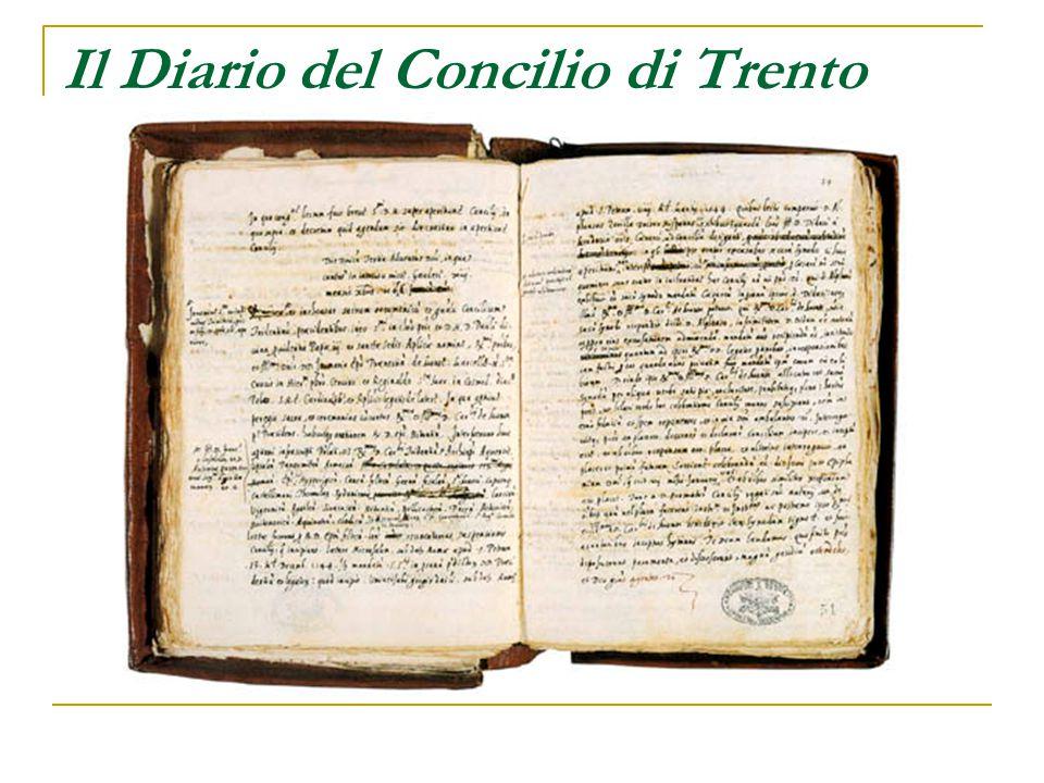 Il Diario del Concilio di Trento