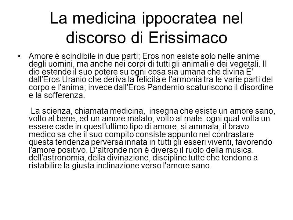 La medicina ippocratea nel discorso di Erissimaco