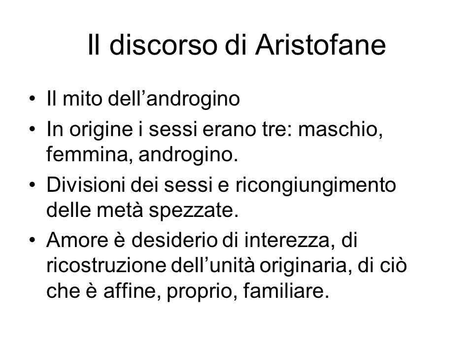 Il discorso di Aristofane