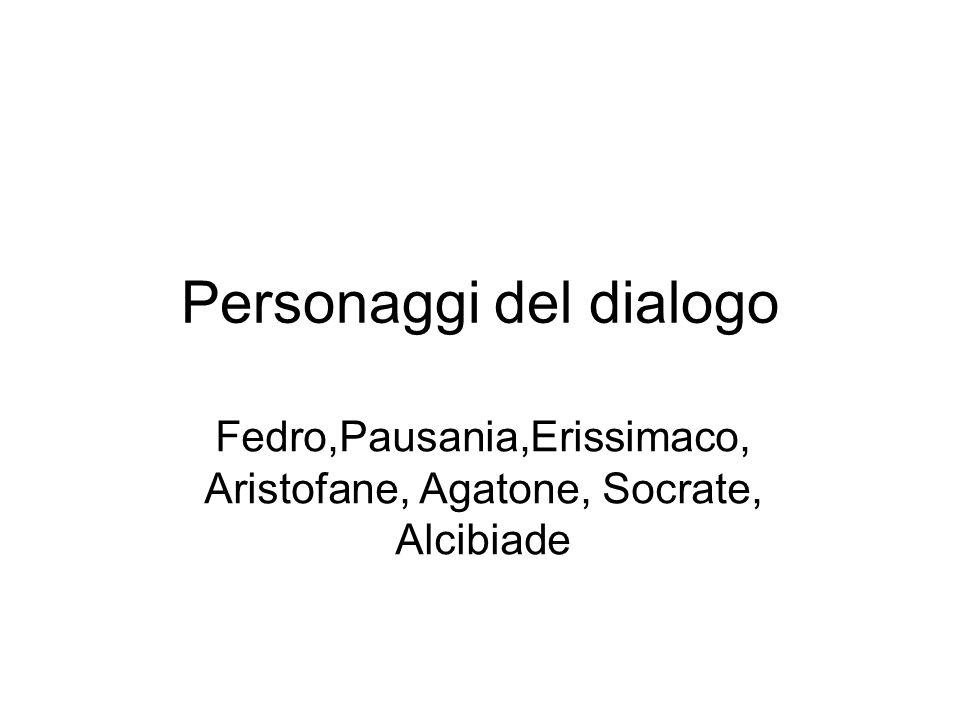 Personaggi del dialogo