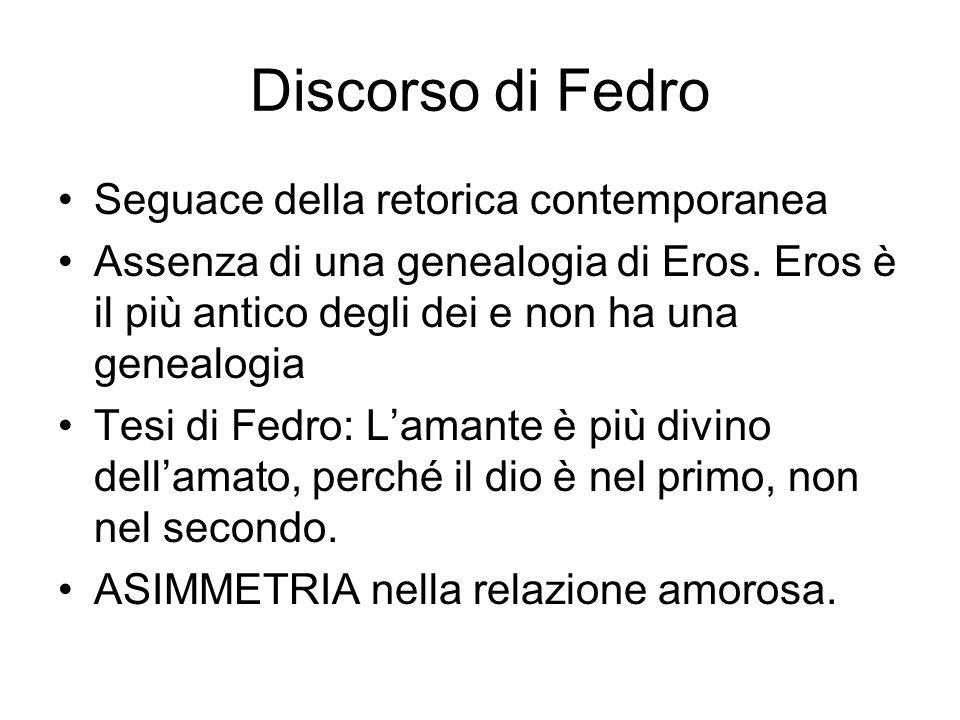 Discorso di Fedro Seguace della retorica contemporanea