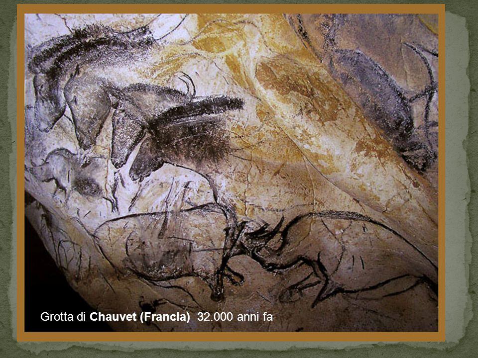 Grotta di Chauvet (Francia) 32.000 anni fa