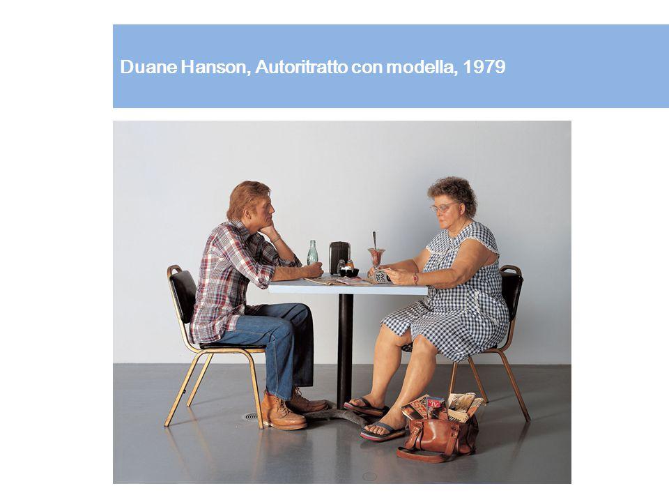 Duane Hanson, Autoritratto con modella, 1979