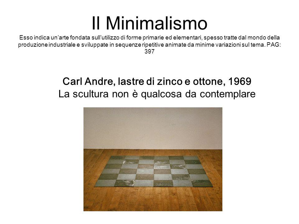 Il Minimalismo