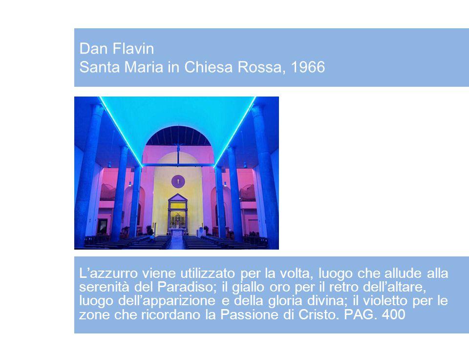 Dan Flavin Santa Maria in Chiesa Rossa, 1966