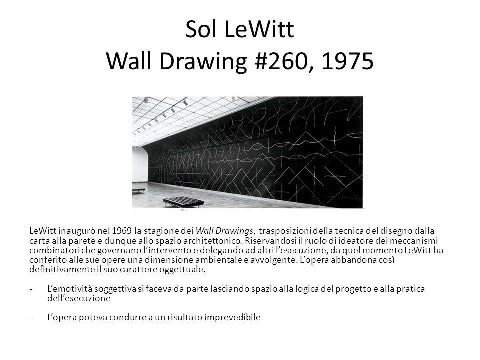 Sol LeWitt Wall Drawing #260, 1975