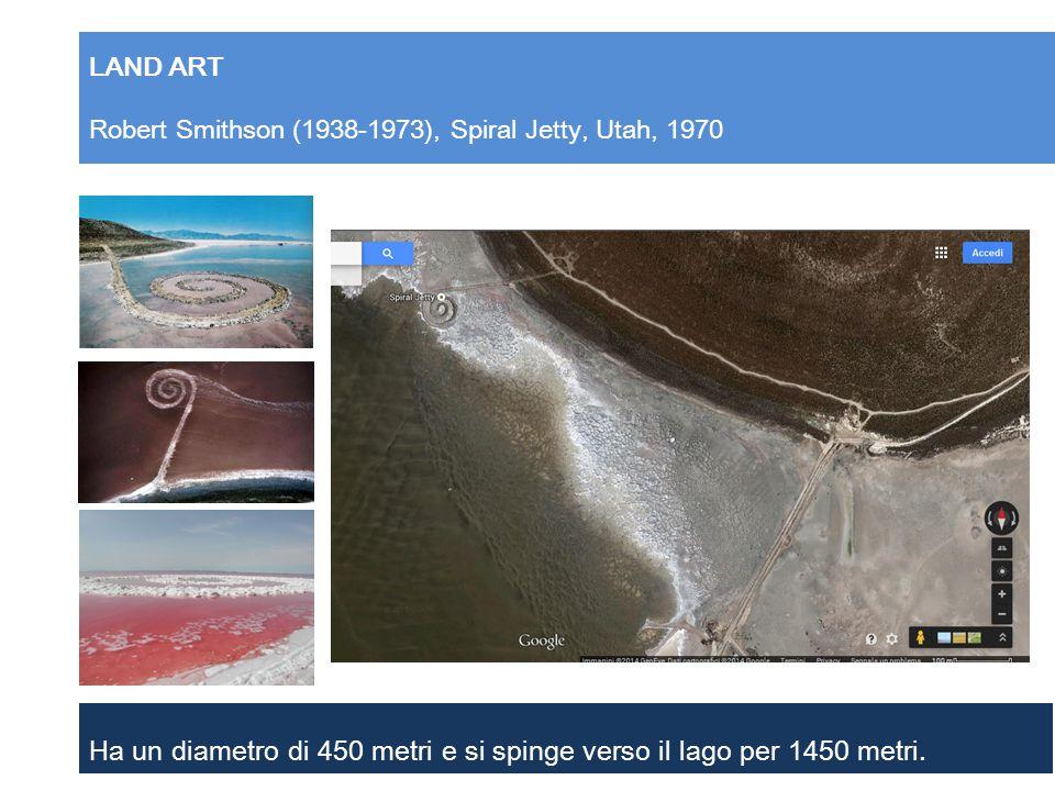 LAND ART Robert Smithson (1938-1973), Spiral Jetty, Utah, 1970