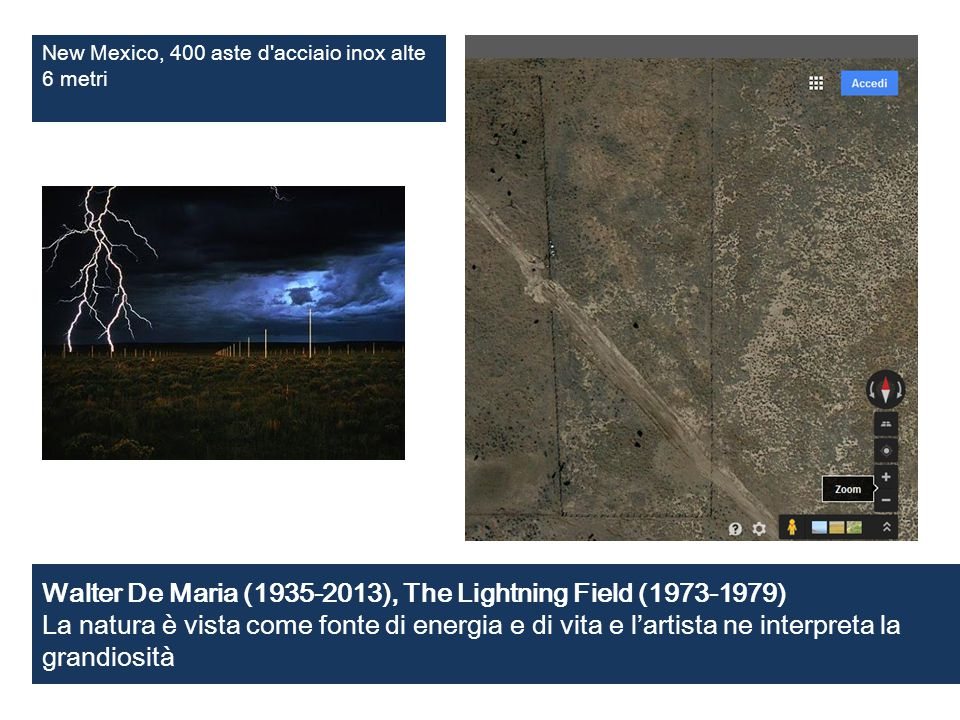 New Mexico, 400 aste d acciaio inox alte 6 metri