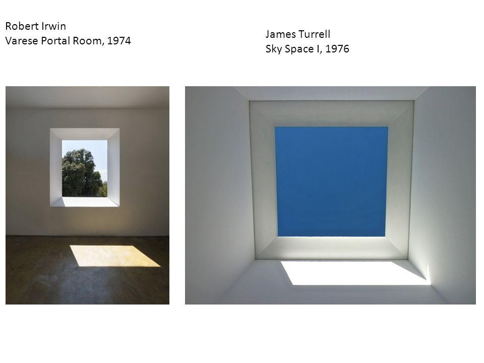 Robert Irwin Varese Portal Room, 1974