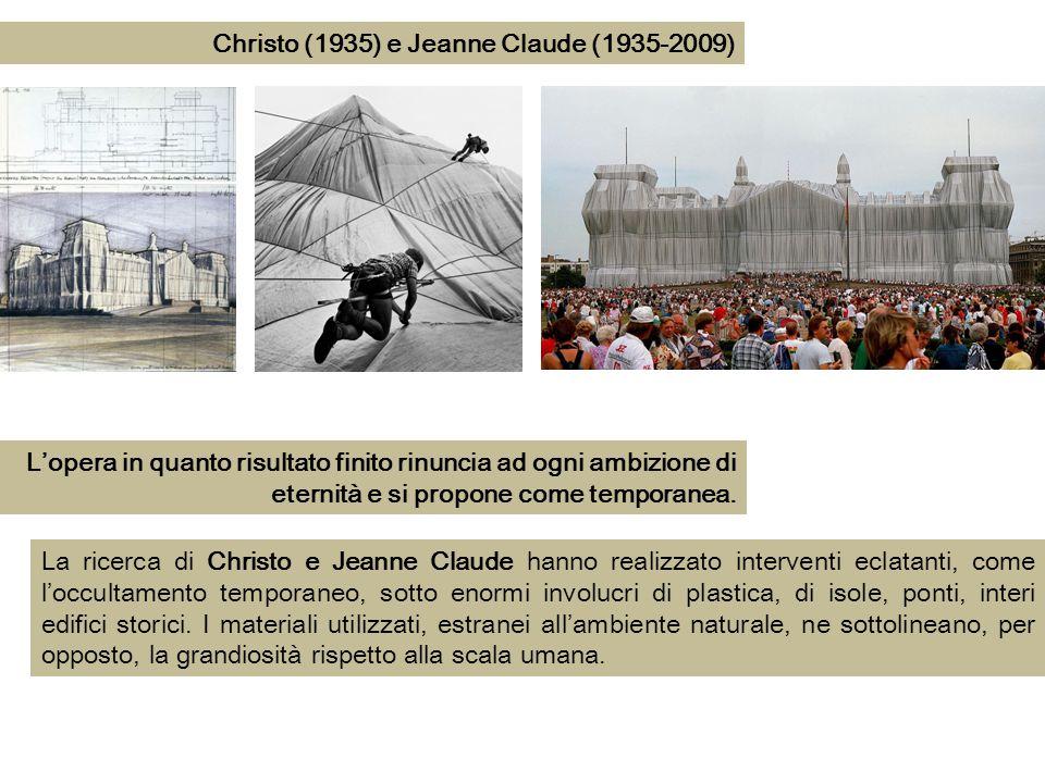 Christo (1935) e Jeanne Claude (1935-2009)