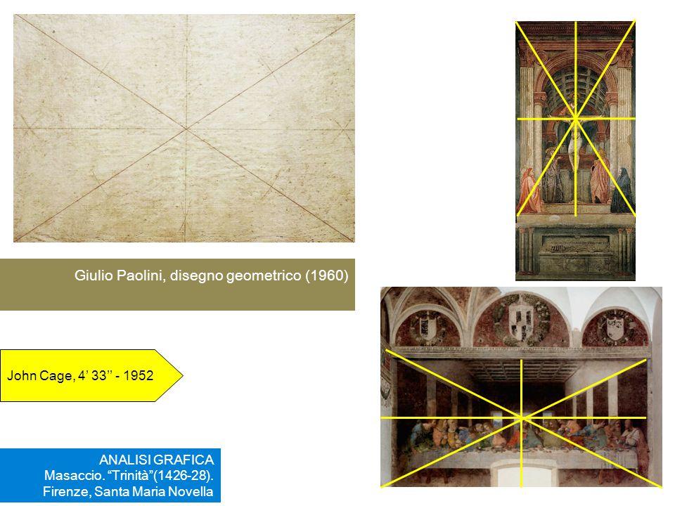 Giulio Paolini, disegno geometrico (1960)