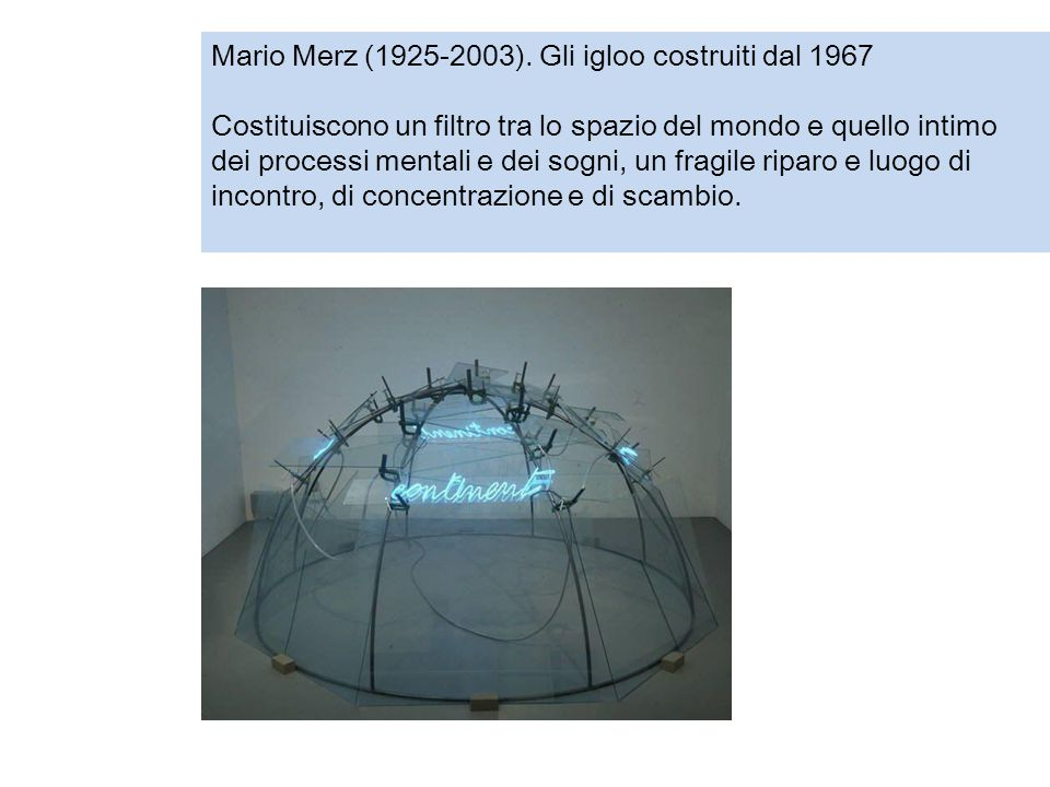 Mario Merz (1925-2003).