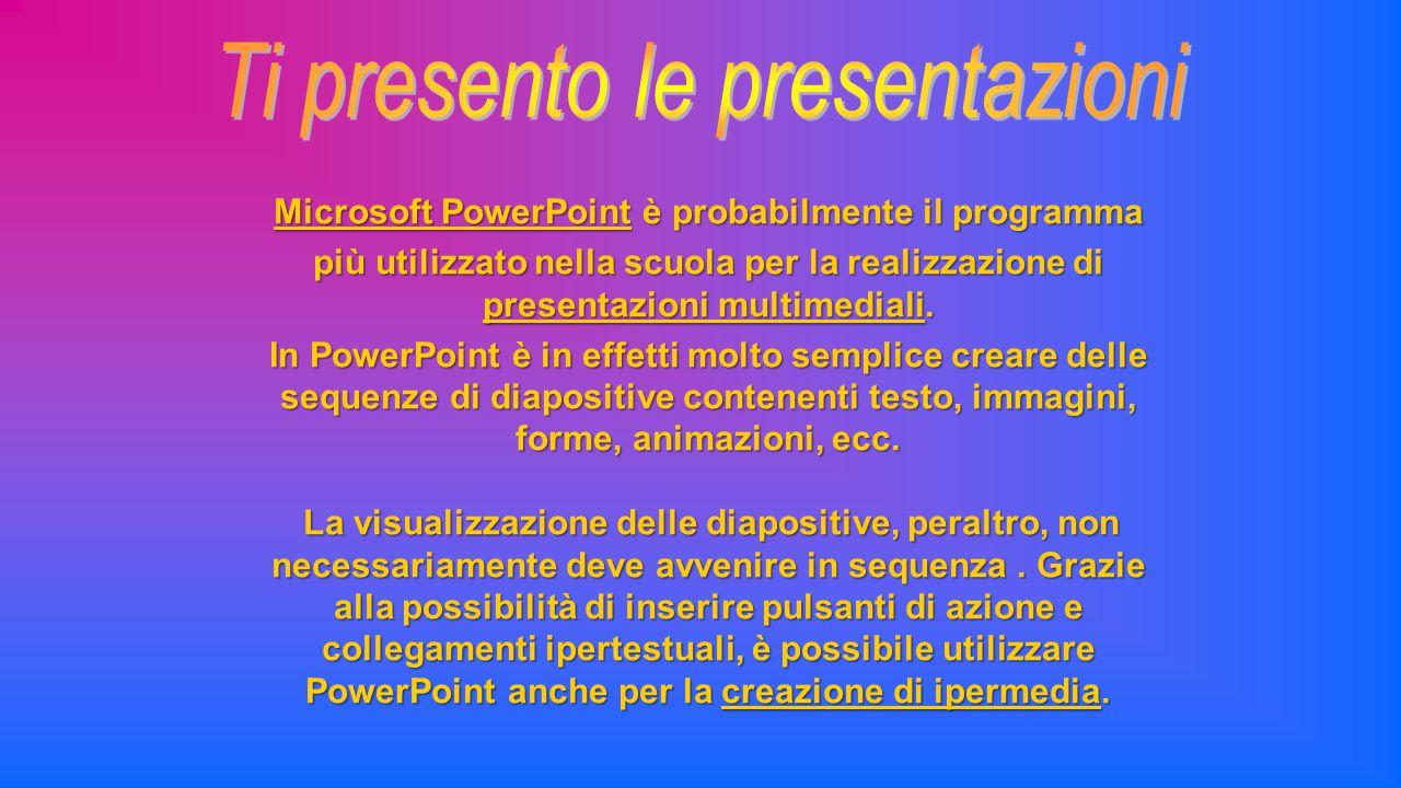 Microsoft PowerPoint è probabilmente il programma