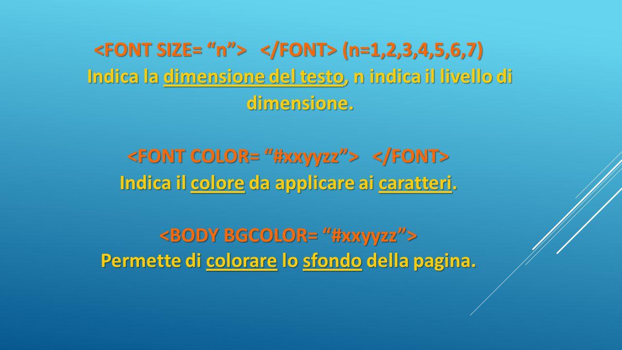 <FONT SIZE= n > </FONT> (n=1,2,3,4,5,6,7)