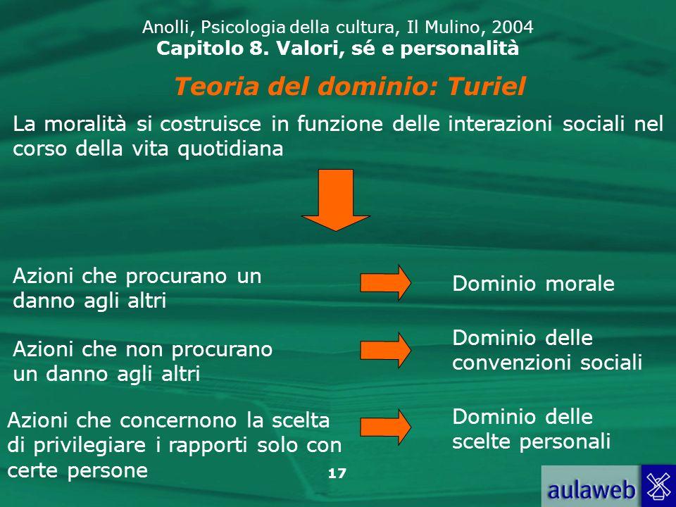 Teoria del dominio: Turiel