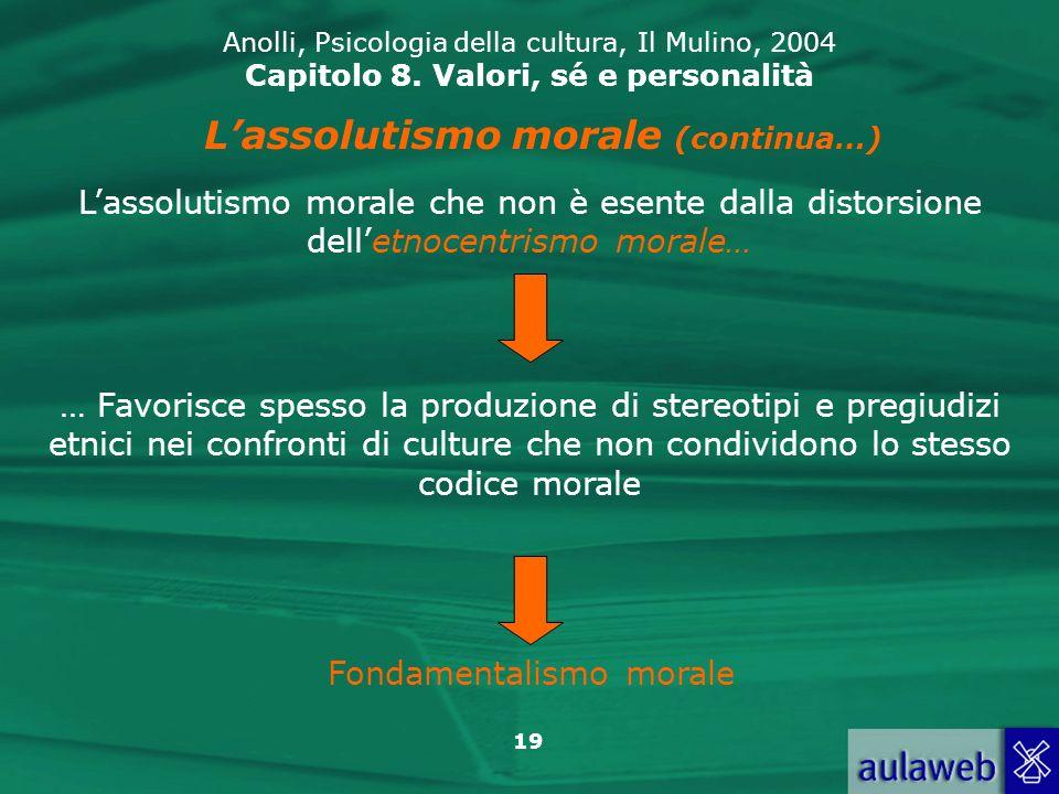 L'assolutismo morale (continua…)