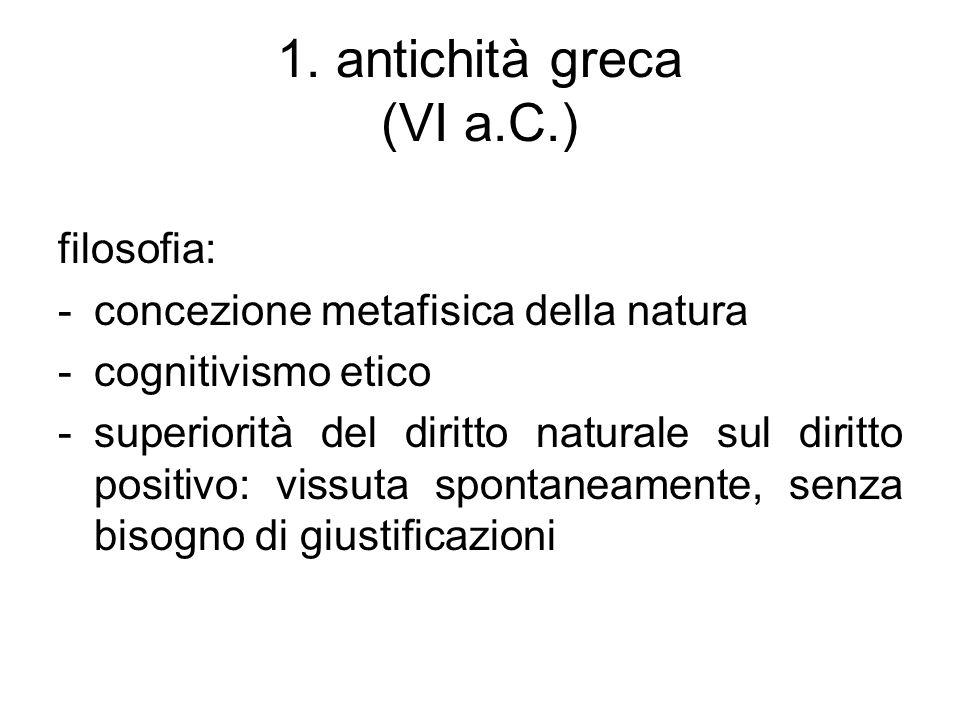 1. antichità greca (VI a.C.)