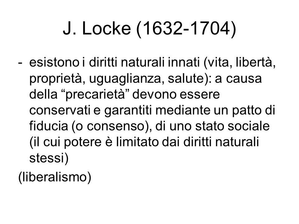 J. Locke (1632-1704)