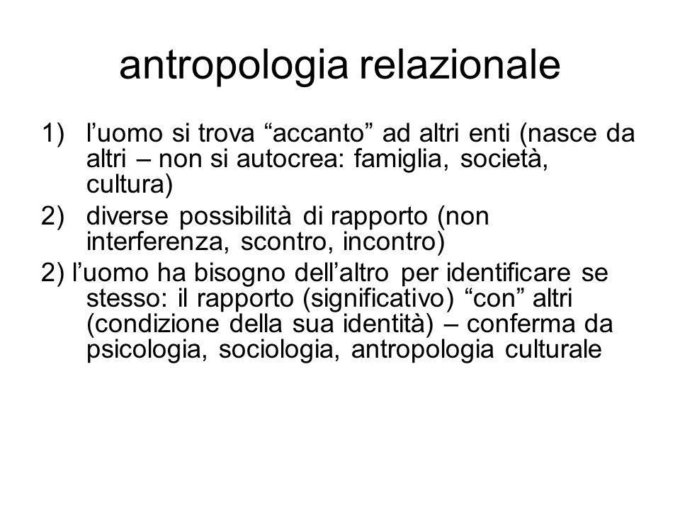 antropologia relazionale