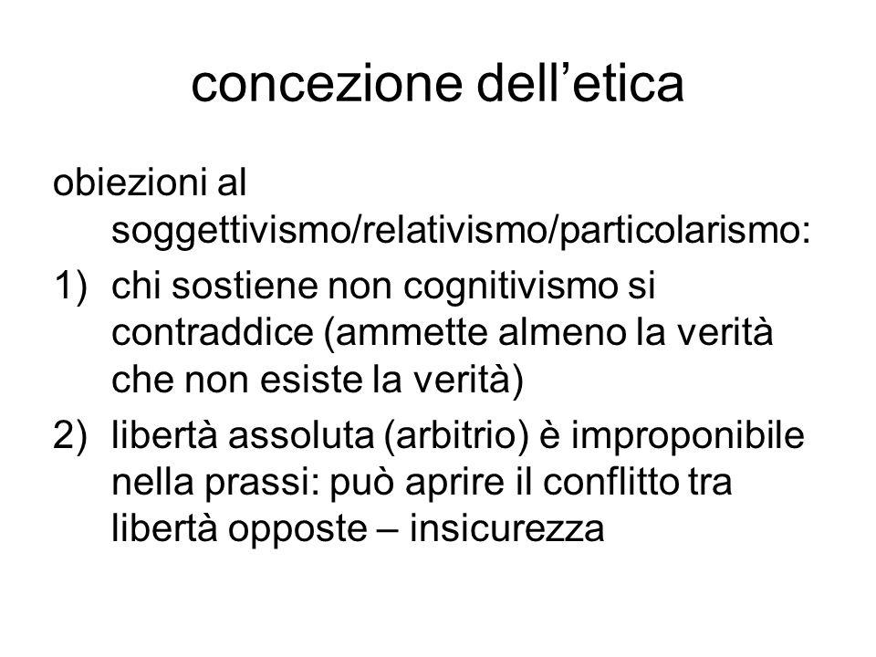 concezione dell'etica