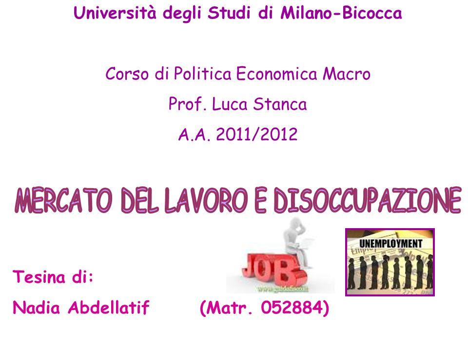 Università degli Studi di Milano-Bicocca