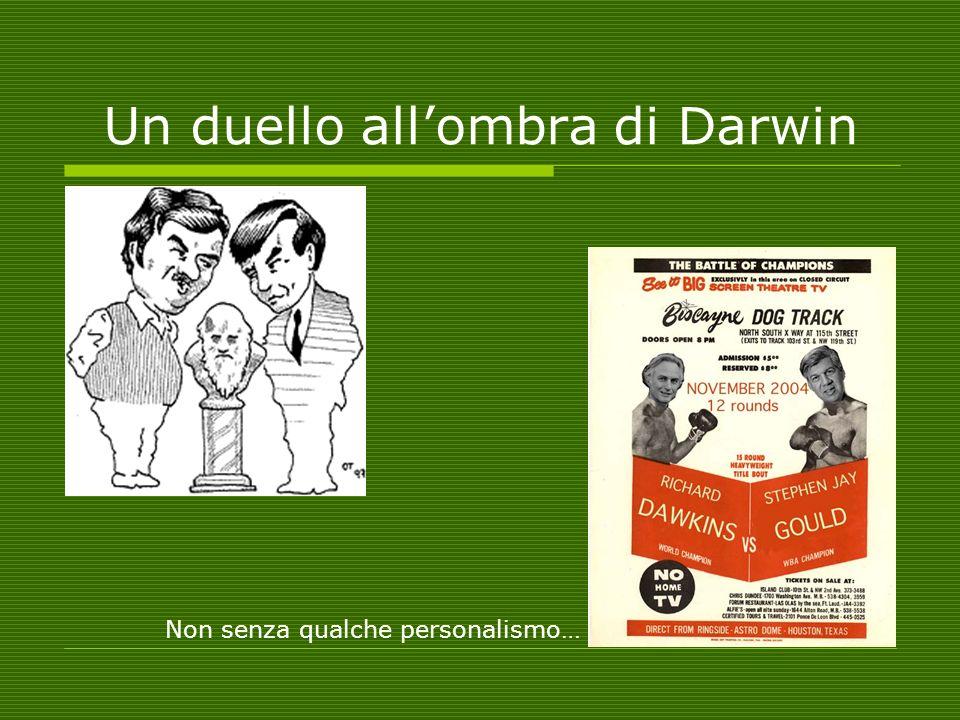Un duello all'ombra di Darwin